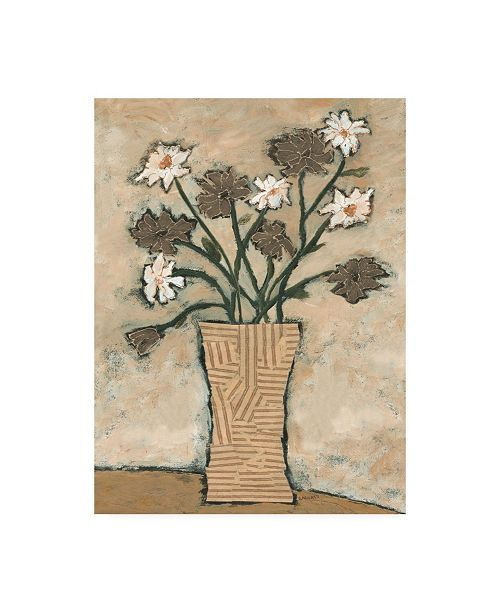 "Trademark Global Judi Bagnato Flowers from B II Canvas Art - 36.5"" x 48"""