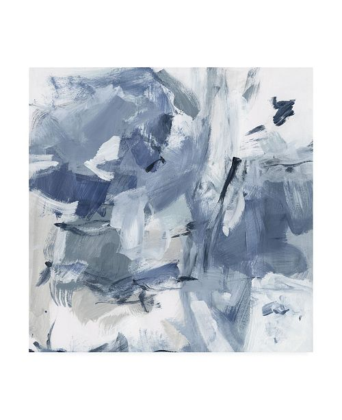 "Trademark Global Christina Long Winter Air I Canvas Art - 15.5"" x 21"""