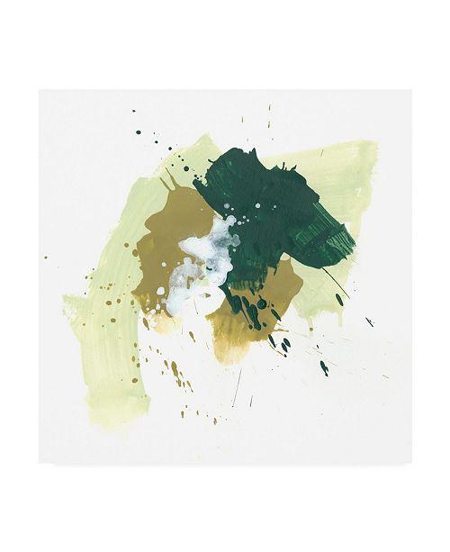 "Trademark Global June Erica Vess Midori V Canvas Art - 36.5"" x 48"""