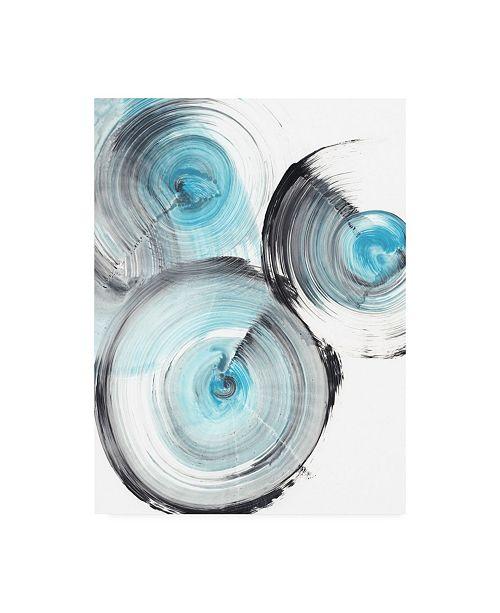 "Trademark Global Ethan Harper Ripple Effect II Canvas Art - 36.5"" x 48"""