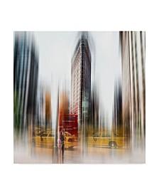"""Carmine Chiriaco Flatiron Blur Canvas Art - 27"""" x 33"""""""