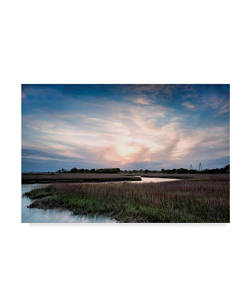 "Trademark Global Danny Head Low Country Sunset III Canvas Art - 20"" x 25"""