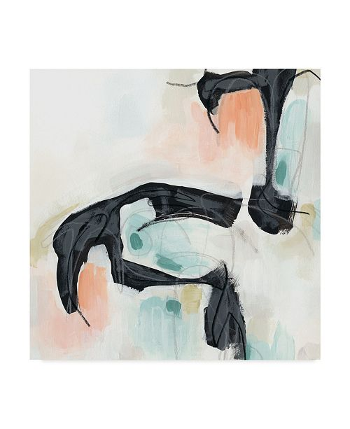 """Trademark Global June Erica Vess Pastel Horizon II Canvas Art - 15"""" x 20"""""""