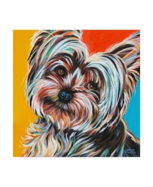 "Carolee Vitaletti Sweet Yorkie Ii Canvas Art - 20"" x 25"""
