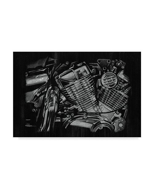 """Trademark Global Ethan Harper Polished Chrome I Canvas Art - 20"""" x 25"""""""
