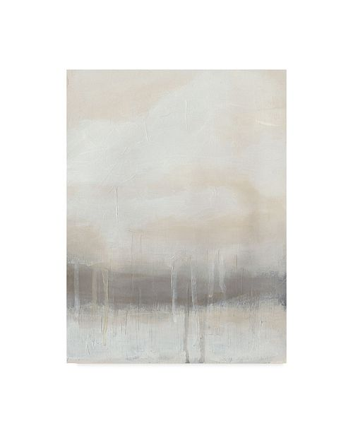 "Trademark Global June Erica Vess Horizon Strata I Canvas Art - 15"" x 20"""