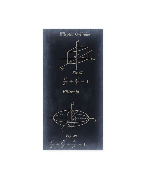 "Trademark Global Jason Johnson Mathematics I Canvas Art - 15"" x 20"""