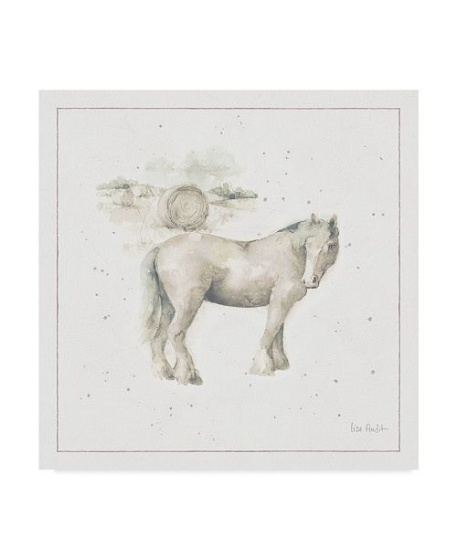 "Trademark Global Lisa Audit Farm Friends XII Neutral Canvas Art - 15"" x 20"""