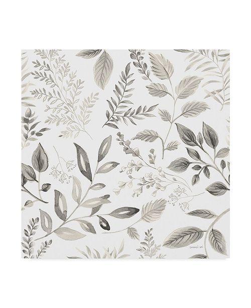 "Trademark Global Danhui Nai Sketchbook Garden Pattern III Canvas Art - 15"" x 20"""