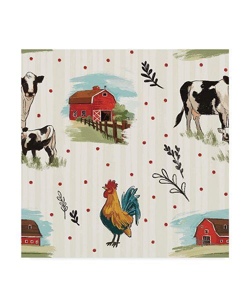 "Trademark Global Janelle Penner Farm Life Step 01 Canvas Art - 20"" x 25"""