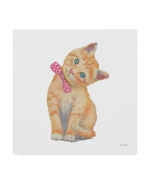 "Trademark Global Emily Adams Cutie Kitties II Canvas Art - 15"" x 20"""
