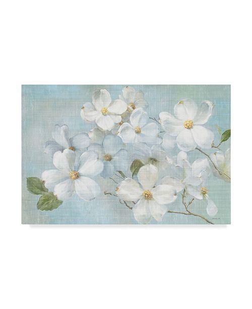 "Trademark Global Danhui Nai Indiness Blossoms Light Canvas Art - 20"" x 25"""