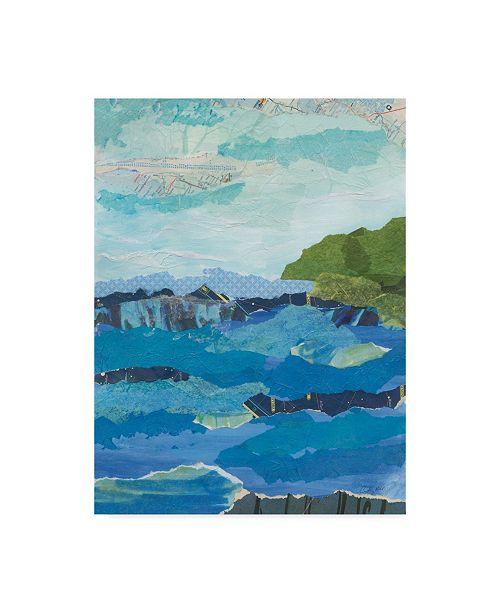 "Trademark Global Courtney Prahl Abstract Coastal IV Canvas Art - 15"" x 20"""