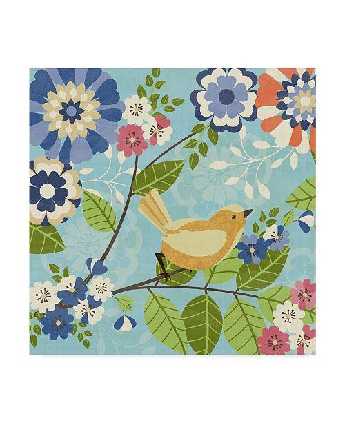 "Trademark Global Diane Kappa Flock Together II Canvas Art - 15"" x 20"""