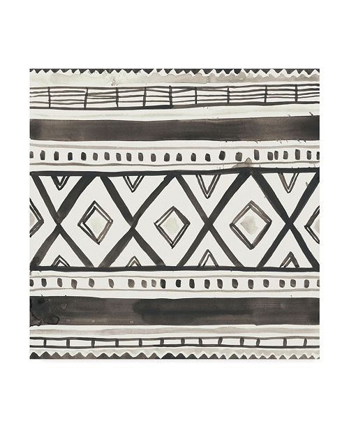 "Trademark Global June Erica Vess Tribal Echo III Canvas Art - 20"" x 25"""