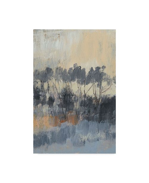 "Trademark Global Jennifer Goldberger Paynes Tree Line I Canvas Art - 15"" x 20"""