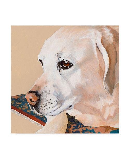 """Trademark Global Dlynn Roll Dlynns Dogs Shell Canvas Art - 15"""" x 20"""""""