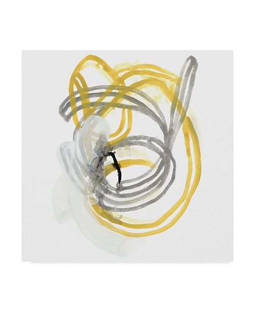 "Trademark Global June Erica Vess String Orbit I Canvas Art - 15"" x 20"""
