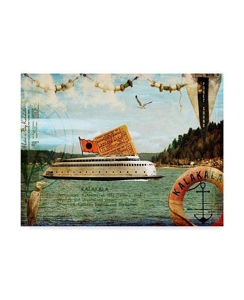 """Trademark Global Sandy Lloyd Kalakala Canvas Art - 15"""" x 20"""""""