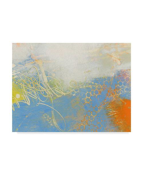 "Trademark Global Sue Jachimiec Blue Lux II Canvas Art - 20"" x 25"""