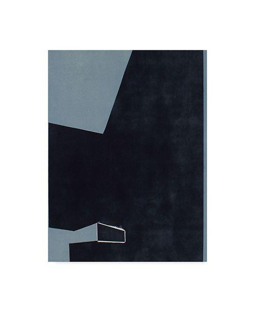 "Trademark Global Rob Delamater Ship Shape Abstract I Canvas Art - 20"" x 25"""