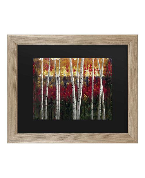"""Trademark Global Masters Fine Art Autumn Matted Framed Art - 27"""" x 33"""""""