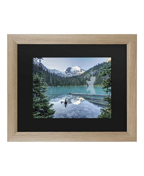 "Trademark Global Pierre Leclerc Natural Beautiful British Columbia Matted Framed Art - 27"" x 33"""