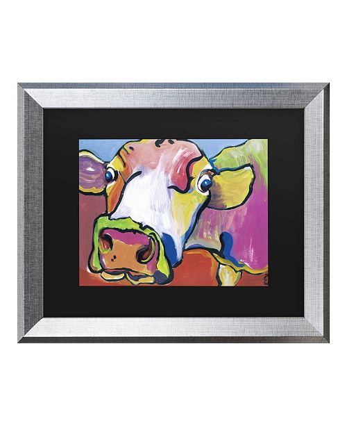 "Trademark Global Pat Saunders-White Cold Hands Matted Framed Art - 20"" x 25"""