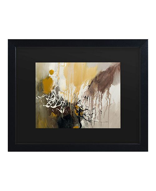 "Trademark Global Masters Fine Art Abstract I Matted Framed Art - 15"" x 20"""