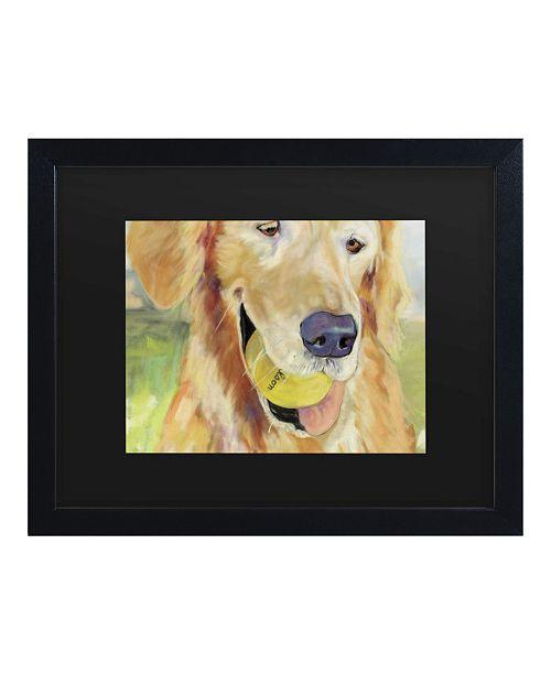 """Trademark Global Pat Saunders-White Gus Matted Framed Art - 15"""" x 20"""""""