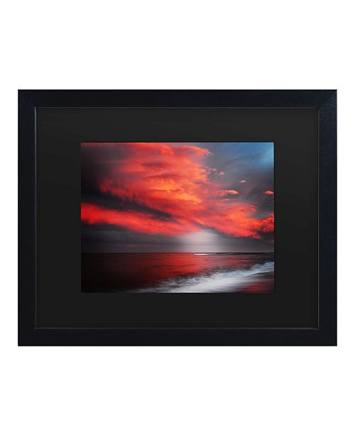 "Trademark Global Philippe Sainte-Laudy The Great Gig in The Sky Matted Framed Art - 15"" x 20"""