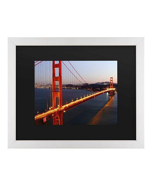 """Trademark Global Pierre Leclerc Golden Gate Sf Matted Framed Art - 20"""" x 25"""""""