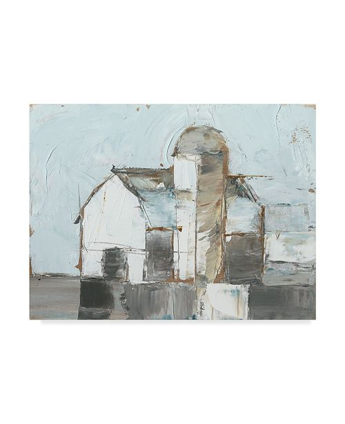 "Trademark Global Ethan Harper Barn and Silo I Canvas Art - 20"" x 25"""