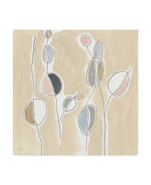 "Trademark Global June Erica Vess String Garden I Canvas Art - 20"" x 25"""