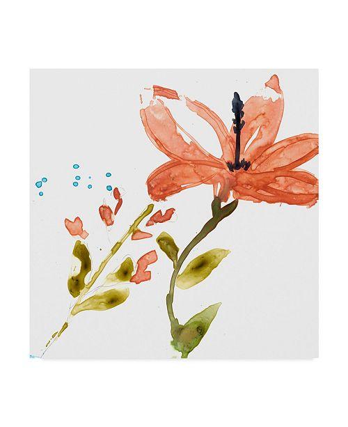 "Trademark Global Jennifer Goldberger Tropical Display III Canvas Art - 15"" x 20"""