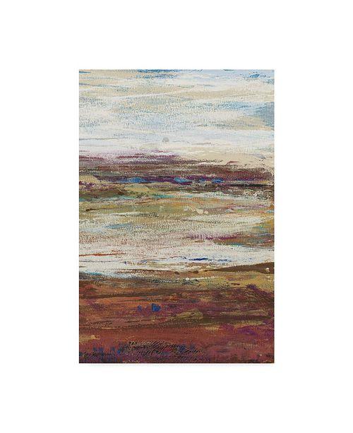 "Trademark Global Tim Otoole Plum Vista III Canvas Art - 37"" x 49"""