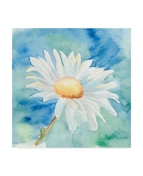 "Trademark Global Regina Moore Daisy Sunshine II Canvas Art - 27"" x 33"""