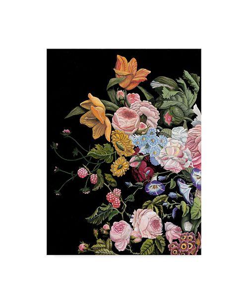 "Trademark Global Naomi Mccavitt Baroque Diptych I Canvas Art - 37"" x 49"""
