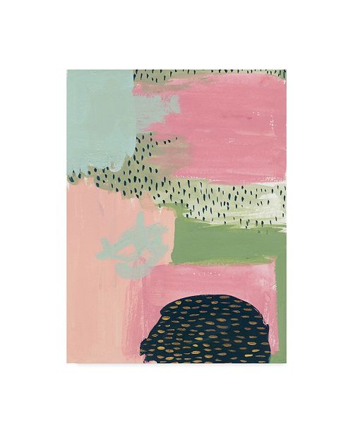 "Trademark Global Melissa Wang Cheeky I Canvas Art - 20"" x 25"""