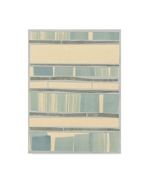 "Trademark Global Renee W. Stramel Ocean Inlay I Canvas Art - 20"" x 25"""