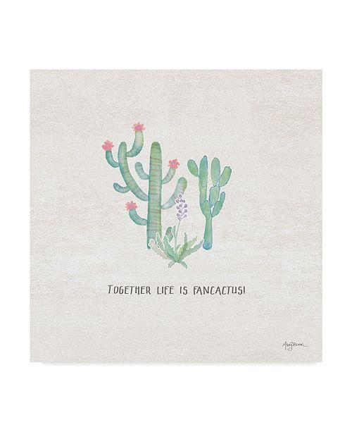 "Trademark Global Mary Urban Bohemian Cactus VIII Canvas Art - 27"" x 33"""