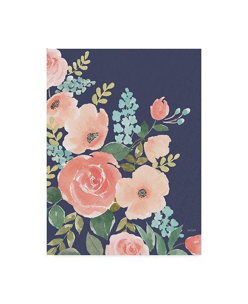 "Trademark Global Jenaya Jackson Blooming Delight I Canvas Art - 20"" x 25"""