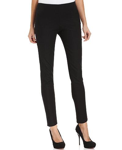 Vince Camuto Skinny Side Zip Pants Pants Women Macy S
