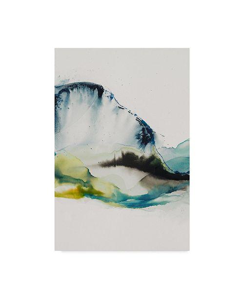"""Trademark Global Sisa Jasper Abstract Terrain III Canvas Art - 20"""" x 25"""""""