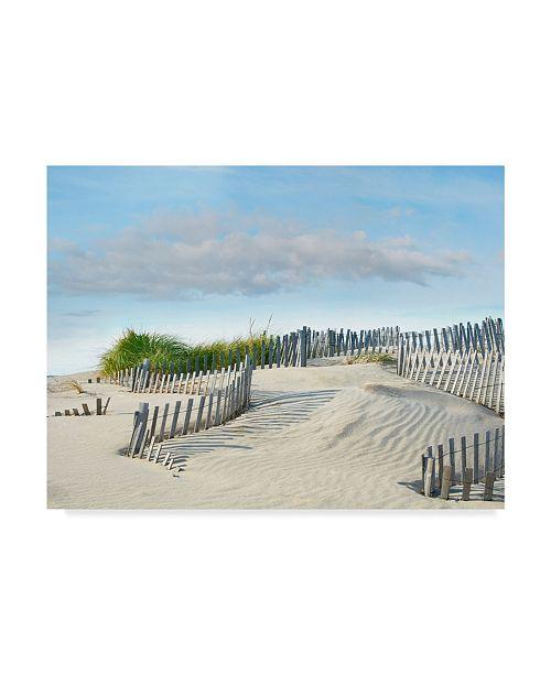 "Trademark Global James Mcloughlin Beachscape III Canvas Art - 15"" x 20"""