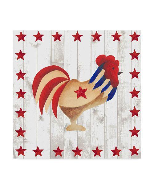 "Trademark Global Regina Moore Americana Animals II Canvas Art - 15"" x 20"""