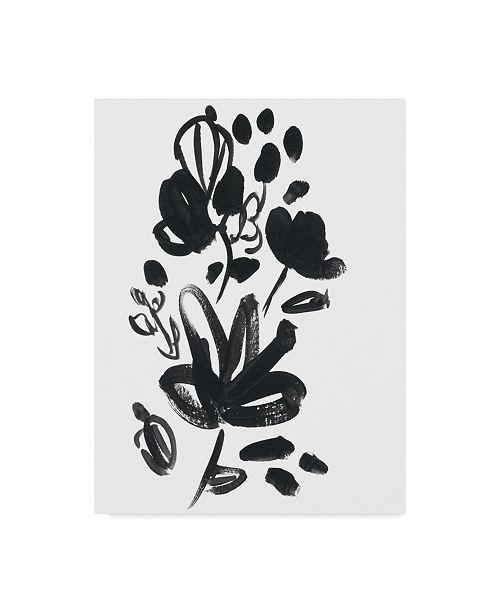 "Trademark Global June Erica Vess Cameo Bloom V Canvas Art - 20"" x 25"""