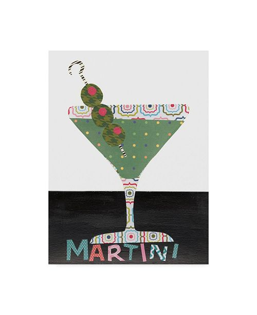 "Trademark Global Regina Moore Mix Me a Drink II Canvas Art - 15"" x 20"""