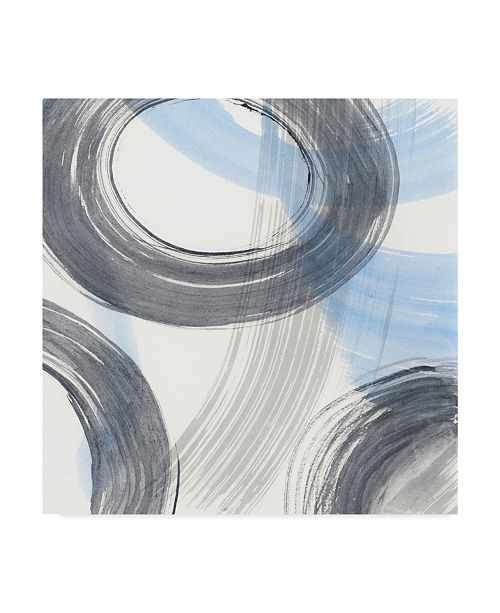 "Trademark Global Renee W. Stramel Twist and Turns II Canvas Art - 27"" x 33"""