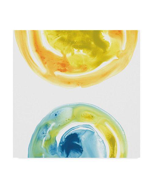 "Trademark Global June Erica Vess Prisma Circuit IV Canvas Art - 15"" x 20"""